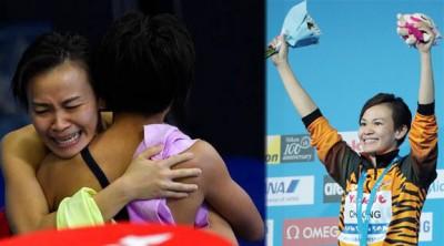 荣膺世界冠军的张俊虹未承诺能否坚持到2020年东京奥运会,但表示会尽力。