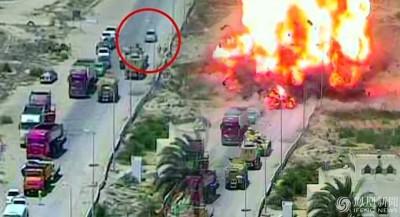 埃及军方坦克实施拦截,未为袭击者在检查站内引爆,故此拯救了50人口之命。