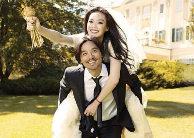 去年九月,舒淇与拍拖4年的冯德伦秘密闪婚。