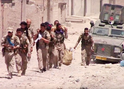SDF当天于旧城区夺回极有战略重点的道。