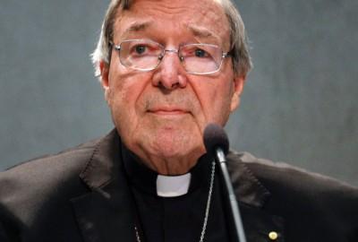 佩尔枢机日前于梵蒂冈会见传媒。