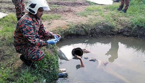 年迈华裔菜农疑失足掉进菜园小池塘不幸溺毙。