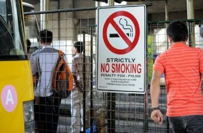 在菲律宾全国范围内,无论室内室外,凡公共场所禁止吸烟。