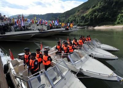 四国过往曾多次联合巡逻执法。