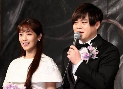 文熙俊今年2月和昭燏完婚。