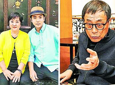 甄珍、刘子千以及刘家昌(右图)涉嫌决裂。