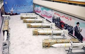 塞雅3型防空导弹的生产线曝光。(法新社照片)