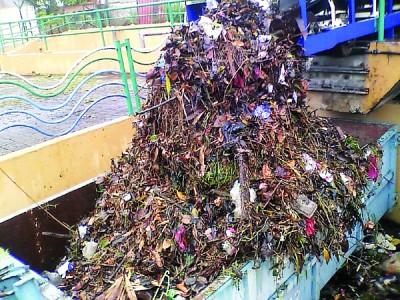 于削减水泵处过滤的污染源多也树枝树叶,事在人为垃圾已大量减。