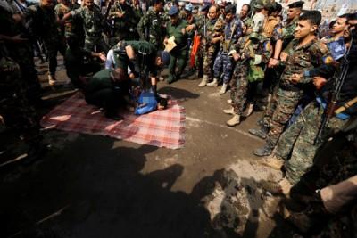 当北京Sanaa市中心执行死刑。