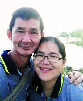 死者洪文同与妻子李运菁。