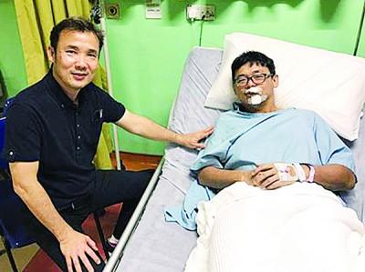 尤端祥(左)省林松荣,连依靠市政厅已着手处理该问题。