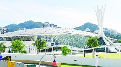北马经济走廊大蓝图开幕礼于周四以sPICE国际会展中心举行。