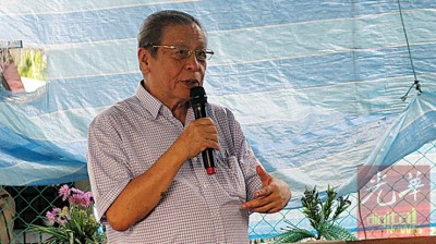 """林吉祥""""抗议""""巫统把他被称为""""马来人头号敌人""""的称号,未经他同意下,""""让""""给了马哈迪。"""