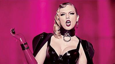 泰勒丝于新歌MV受到来势汹汹,态度呛辣凶狠。