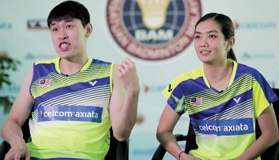 陈健铭与赖沛君。