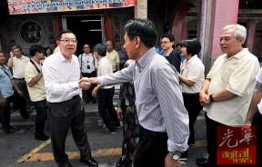 """林冠英与古迹修复专家陈耀威""""握手言和""""!"""