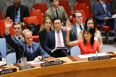 安理会一致通过决议案,加强制裁朝鲜。(法新社照片)