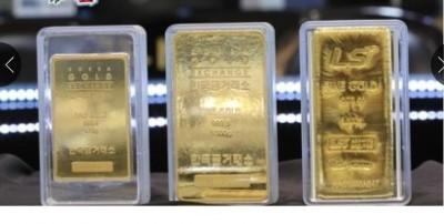 韩国金条销售量急升。