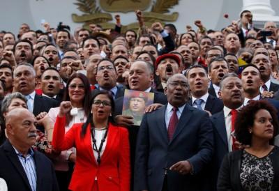 委内瑞拉新组成的制宪议会开会,表决把奥尔特加撤职。