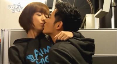 孟耿如和宥胜在《22K梦想高飞》花絮互动亲密。