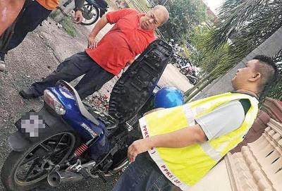 治安队起获报失摩托车。