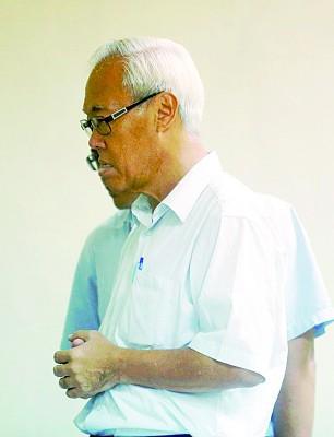 船务公司代理陈汤雄(译音)否认移民局的指控。
