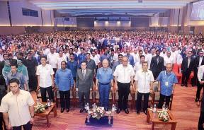 纳吉在槟岛主持北马经济走廊活动,各州领袖出席。