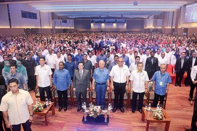 纳吉当槟岛主持北马经济走廊活动,各州领袖出席。