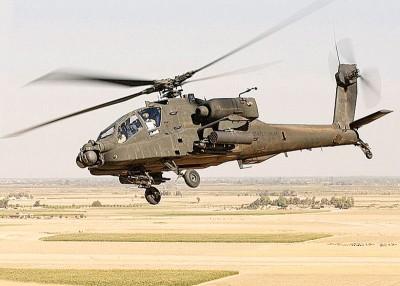 印度政府批准购买6架阿帕奇直升机。