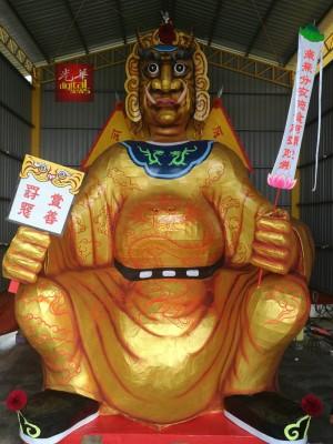 米都默贡斗母宫盂兰胜会,将于农历七月初三(8月24日),为最大尊纸扎大士爷进行开光仪式。