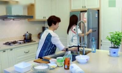ca585亚洲城官网家厨房一角,干净整洁。