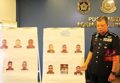 """蔡义来:""""警方还在追缉11名04党的高层""""。"""