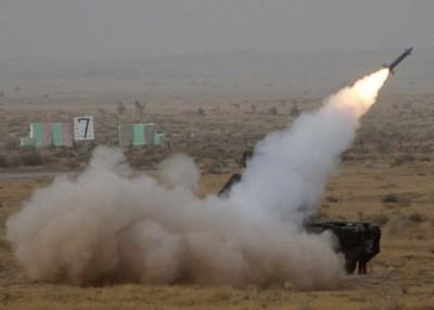 据说导弹系统就通过反复测试和升级。