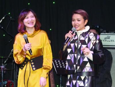 陈慧恬呼吁来二姐出任音乐会嘉宾,其次姐的歌声和演唱实力为大家充分惊艳!