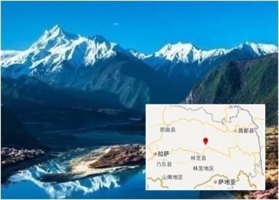 西藏林芝发生4.3级地震。