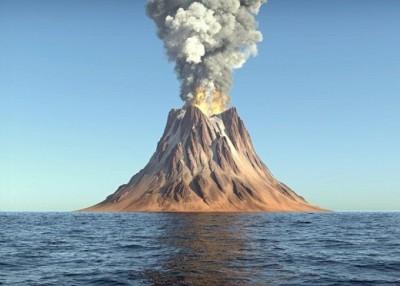 最佳火山爆发将本着世界气候和生态体系有举足轻重影响;希冀为最佳火山爆发模拟图。