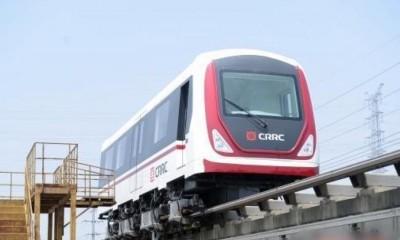 晚中低速磁浮列车已完成时速120公里之运作试验。