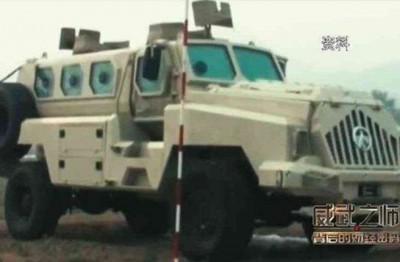 """台媒坐""""华夏制造无懈可击""""也书报道,盛赞这辆在危急时刻大显身手的铁甲装备。"""