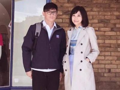 邱沁宜当脸书po生和吴奇隆之合照。