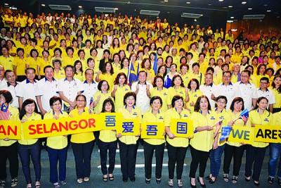 黄家泉代表廖中莱出席马华雪州妇女组第14届州代表大会,并表示希望马华雪州妇女组能够在来届大选积极为马华及国阵助选。