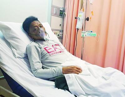 目前人在吉隆坡医院等待进行胆管阻塞手术。