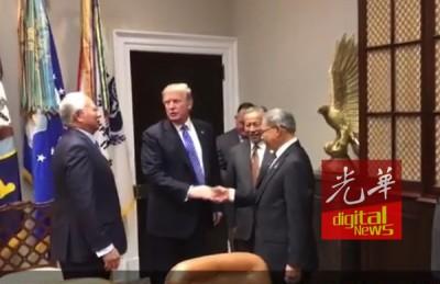首相拿督斯里纳吉于周二早上抵达白宫。