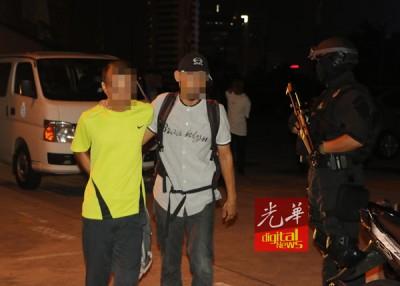 派出所以嫌犯押返警局,因作进一步调查。