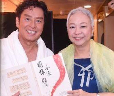 陈秋霞惊传得乳腺癌,抗癌成功后,上月去捧场好友谭咏麟的演唱会。