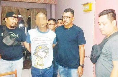 莫哈最后尤斯里以焦赖友人住家被捕。