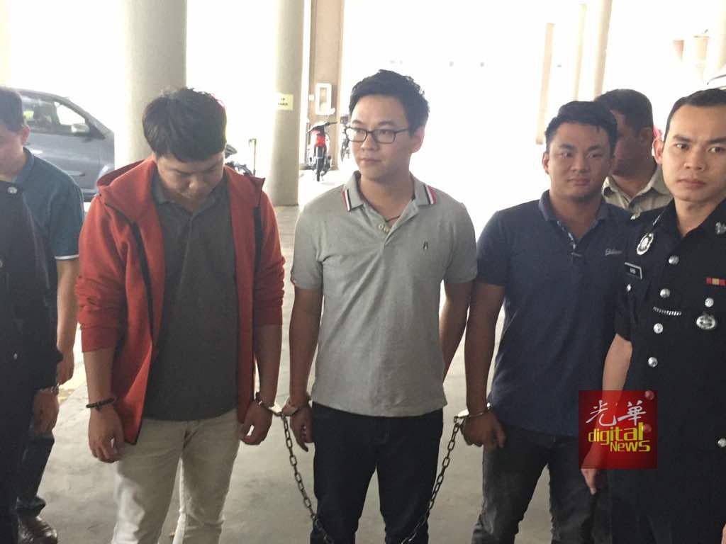 李宗圣与2名助理,在诈骗罪名下被警方提控。