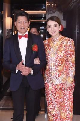 郭富城与方媛4月成婚,染她就深下女儿。