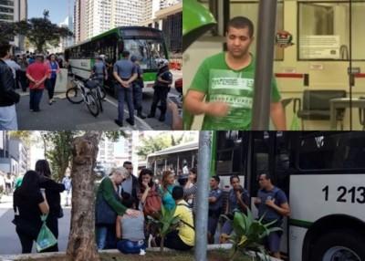 诺瓦尔斯(右上图)在巴士上犯下淫行。(互联网图片)
