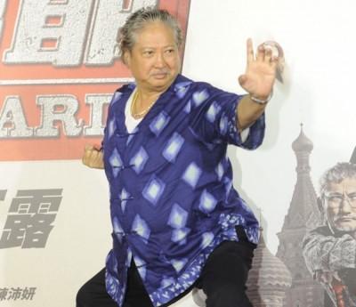 现年65岁洪金宝还担任动作导演。
