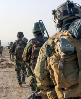 法国部队参与打击IS分子。